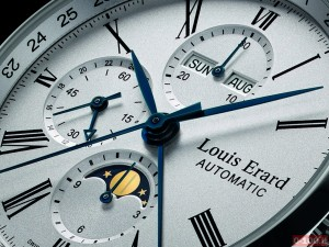 Louis Erard Excellence Moon Phase 24 Hour Chronograph 0 100 3 300x225 Louis Erard Excellence Moon Phase 24 Hour Chronograph
