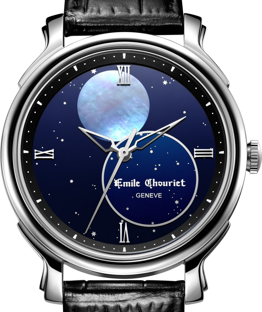 Baselworld 2013: Emile Chouriet  Moonphase