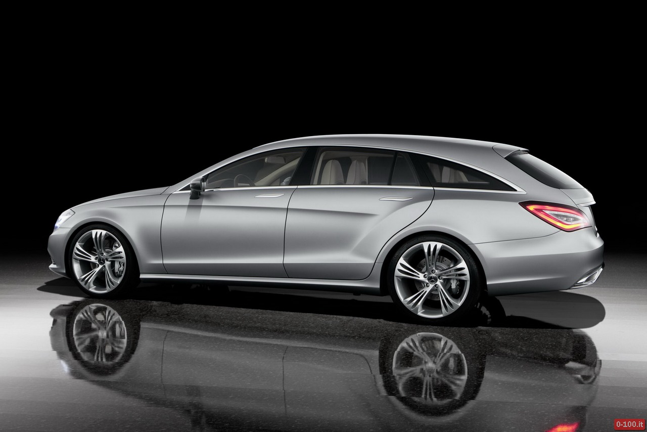 mercedes in arrivo la cla shooting brake 0 100 motori orologi lifestyle. Black Bedroom Furniture Sets. Home Design Ideas