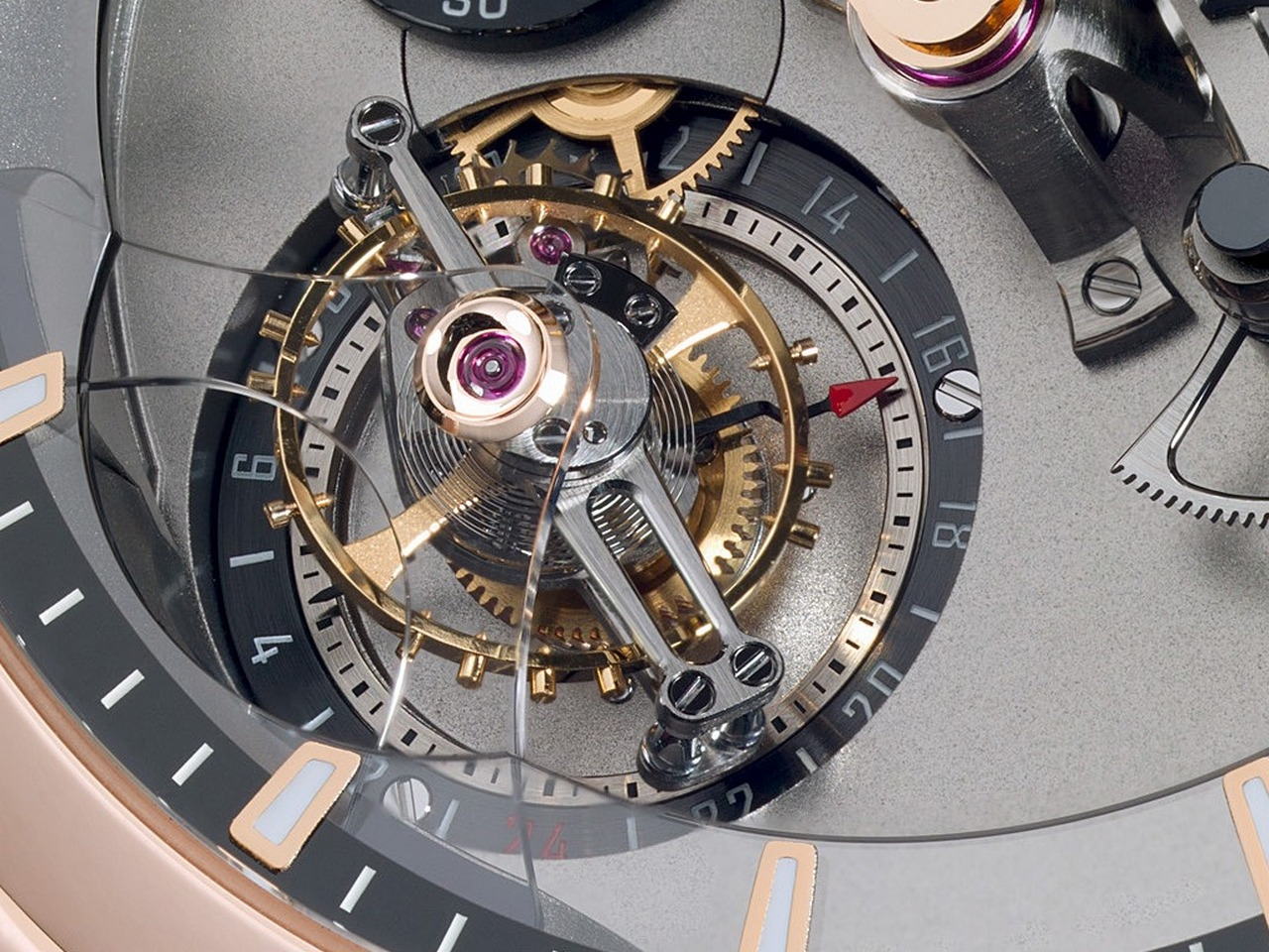 orologio movimento tourbillon