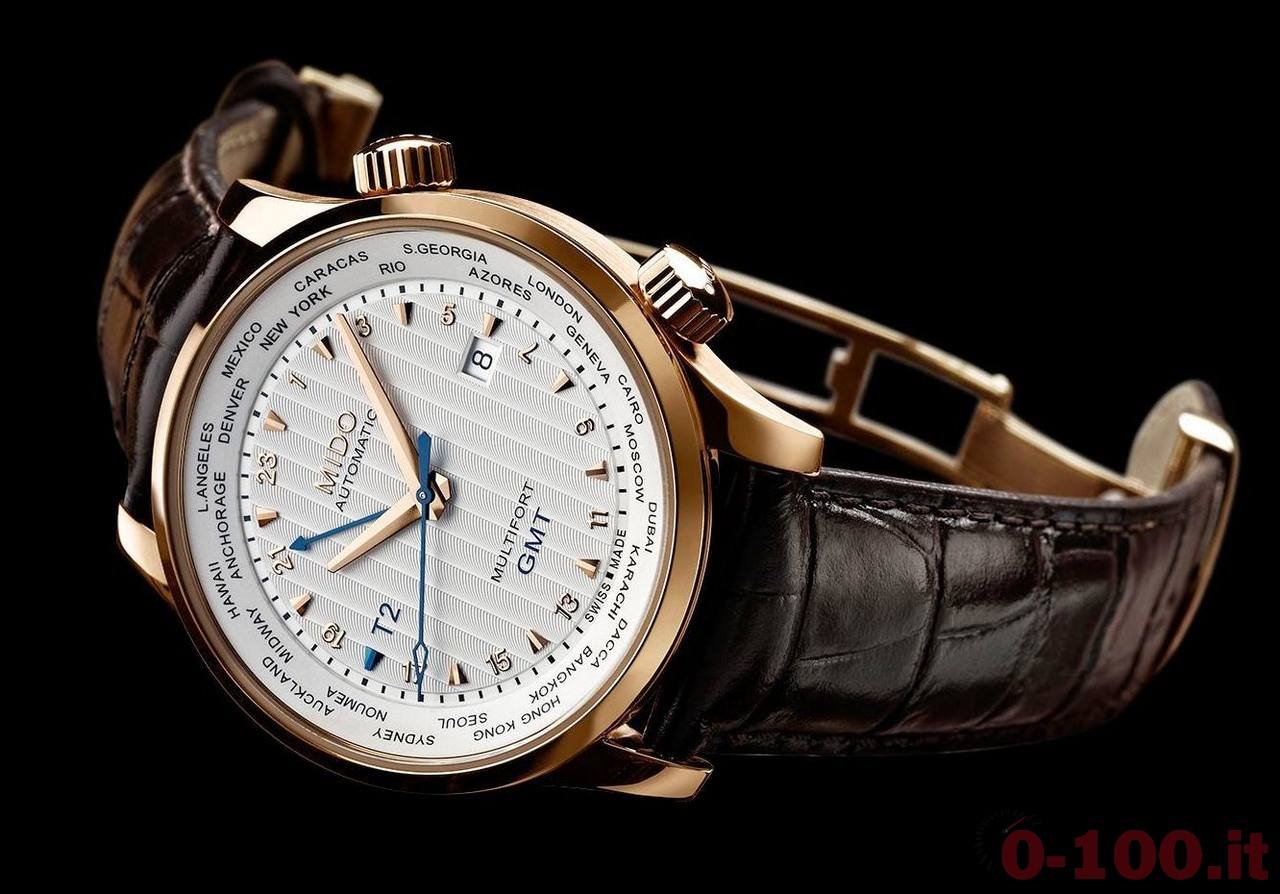 Mido Multifort 80th Anniversary GMT Edition Ref. M005.929.36.031.00