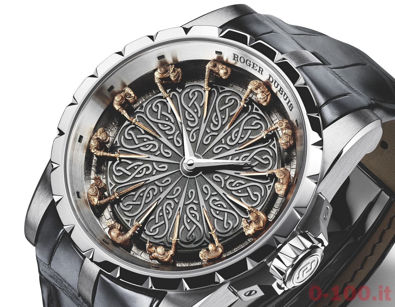 Roger dubuis excalibur knights of the round table limited for 12 knights of round table