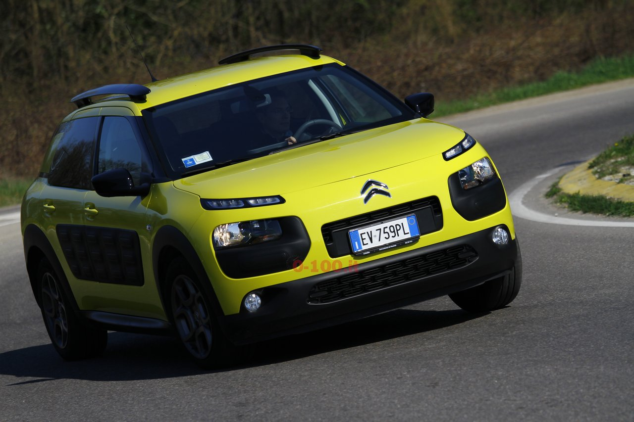 test drive citroen c4 cactus 1 6 e hdi 0 100 motori orologi lifestyle. Black Bedroom Furniture Sets. Home Design Ideas
