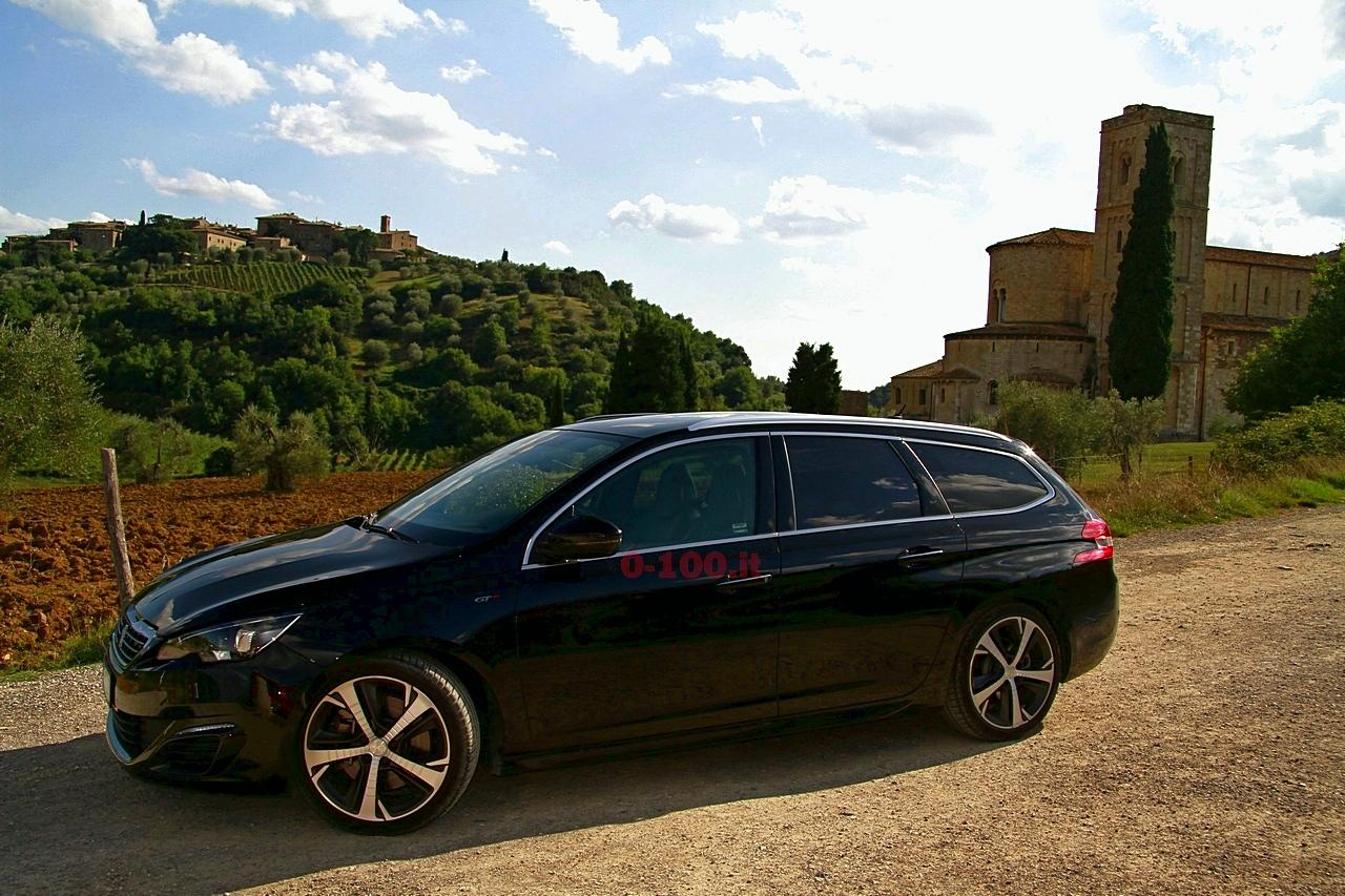 test drive peugeot 308 gt 2 0 blue hdi station wagon 0 100 motori orologi lifestyle. Black Bedroom Furniture Sets. Home Design Ideas