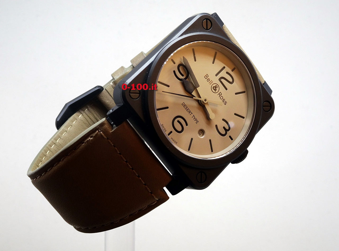 PRIMO CONTATTO: Bell & Ross BR03-92 Desert Type
