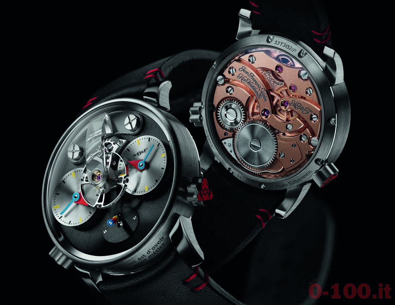 MB&F Legacy Machine N. 1 Silberstein Limited Edition