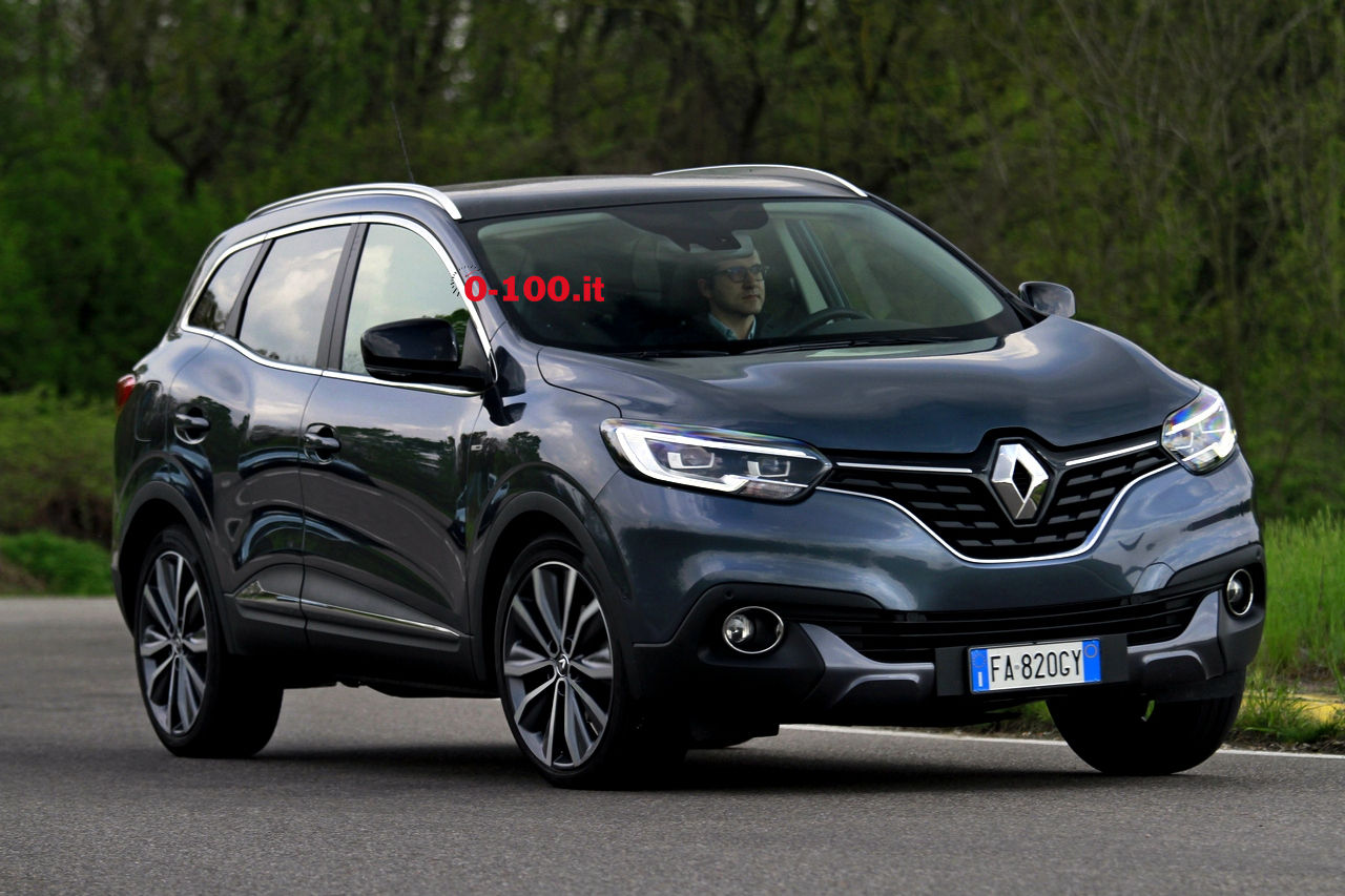 test drive renault kadjar dci 130 cv bose energy 4x4 0 100 motori orologi lifestyle. Black Bedroom Furniture Sets. Home Design Ideas