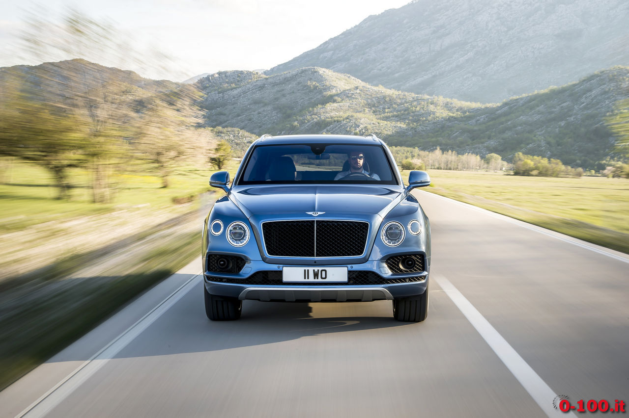 Bentley Bentayga Diesel, consumi: è la prima Bentley a gasolio