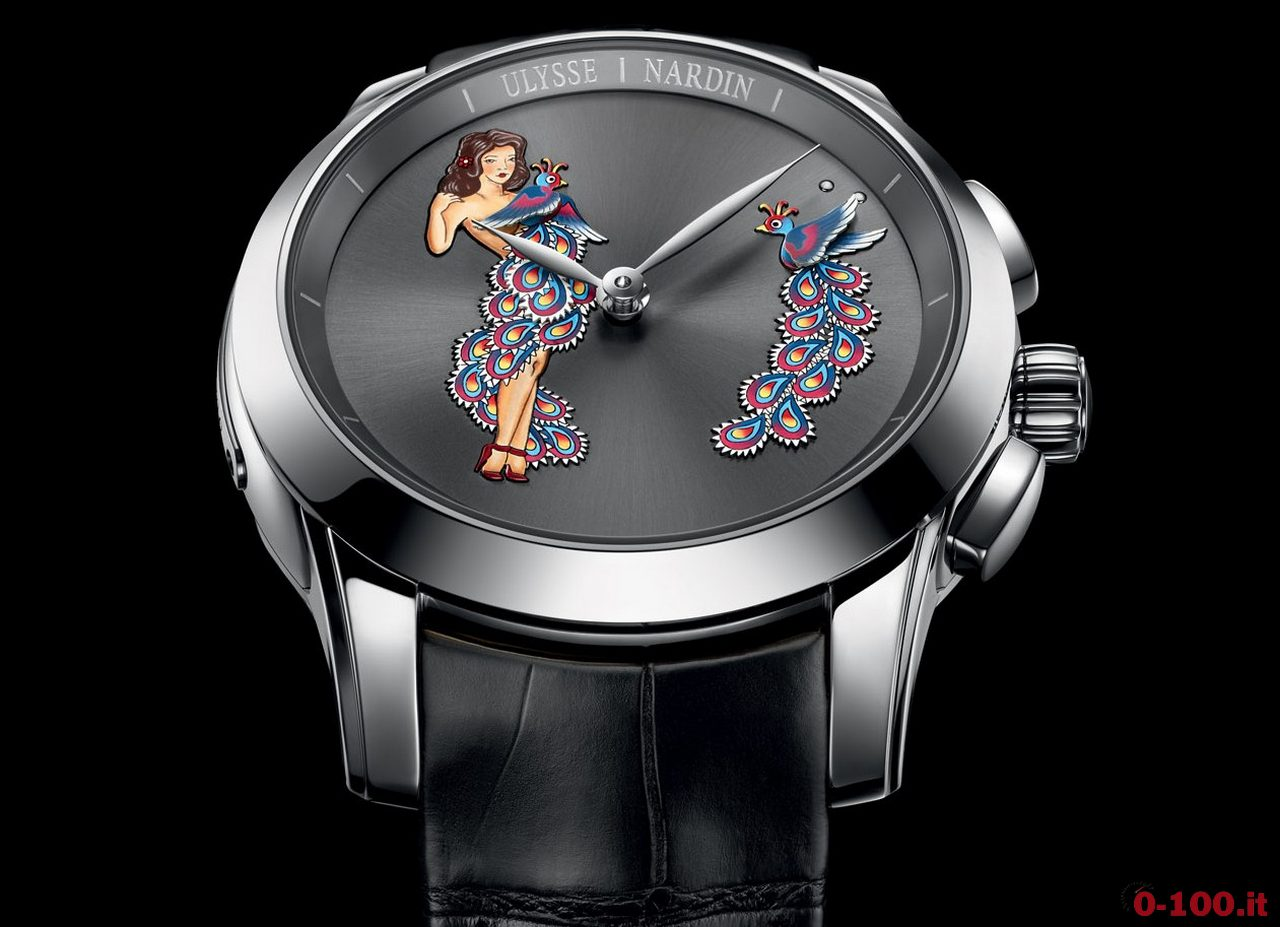 Anteprima  SIHH 2017: Ulysse Nardin Hourstriker Pin-Up Limited Edition Ref. 6106-130/E2-PINUP