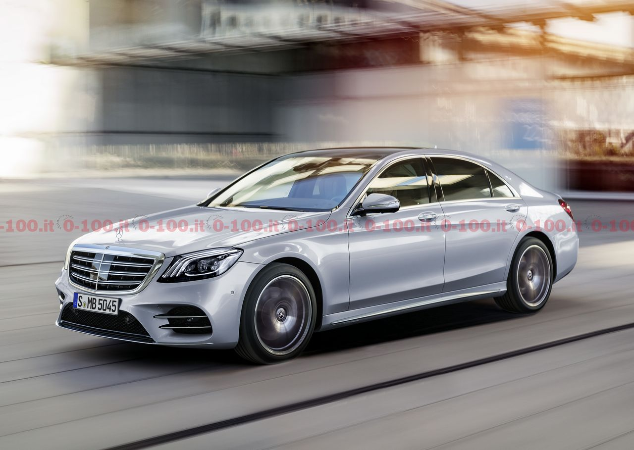 Mercedes Classe S restyling 2017, debutto a Shanghai