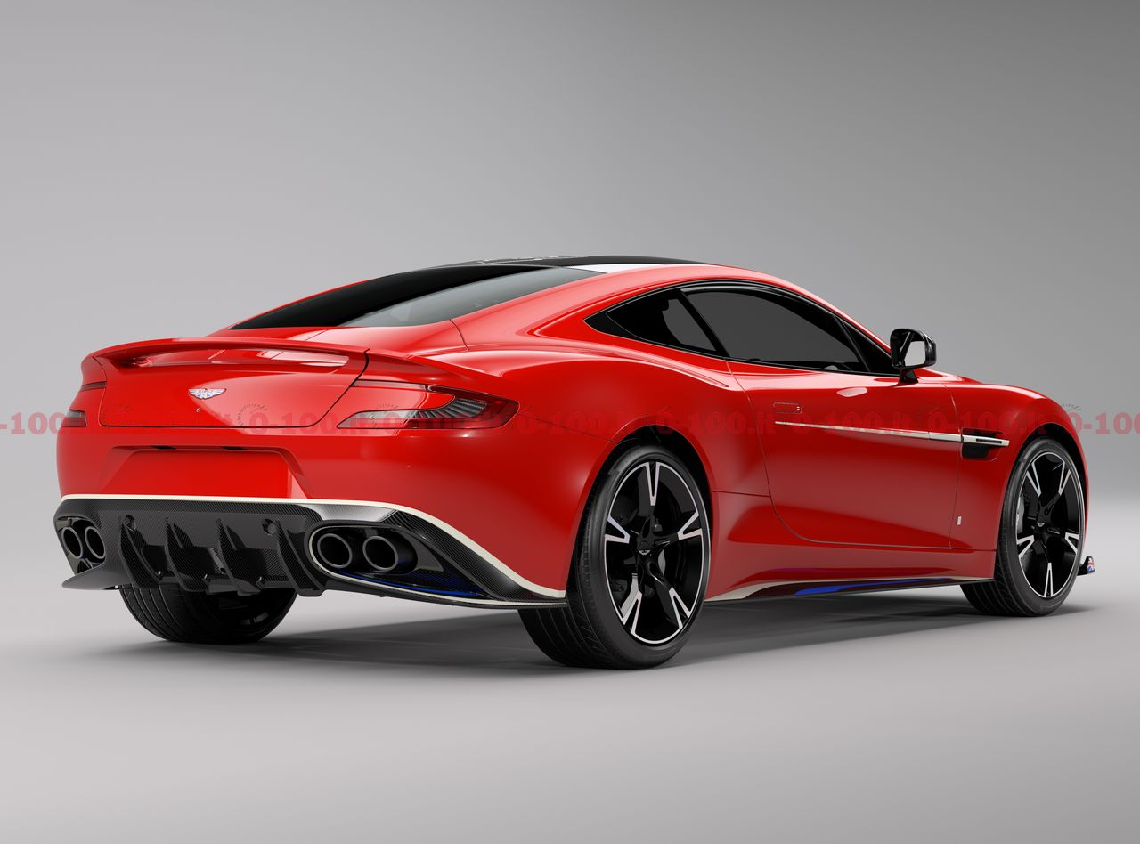 Aston Martin Vanquish S Red Arrows: dedicata ai jet acrobatici della Royal Air Force [FOTO e VIDEO]