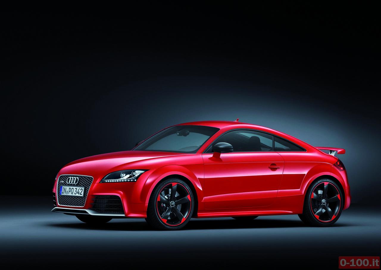 Audi TT RS plus/Standaufnahme
