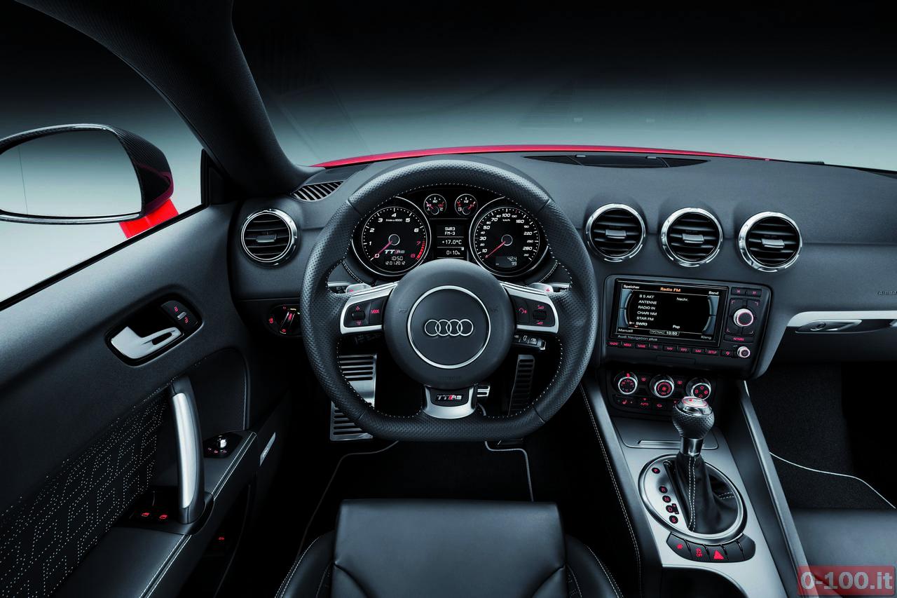 Audi TT RS plus/Innenraum