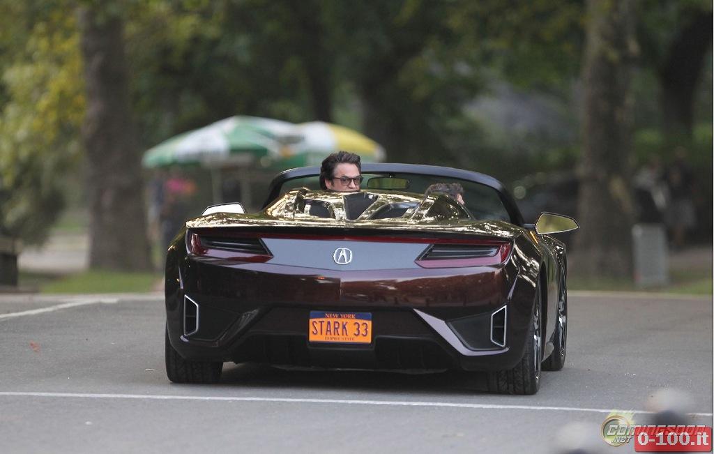 Acura Nsx Convertible Concept L Auto Di Tony Stark 0 100 It