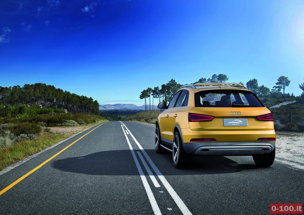 Audi Q3 jinlong yufeng/Fahraufnahme