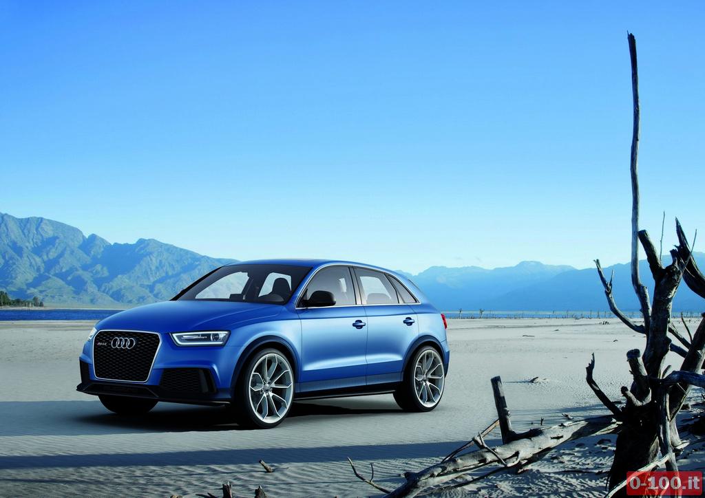 Audi RS Q3 concept/Standaufnahme