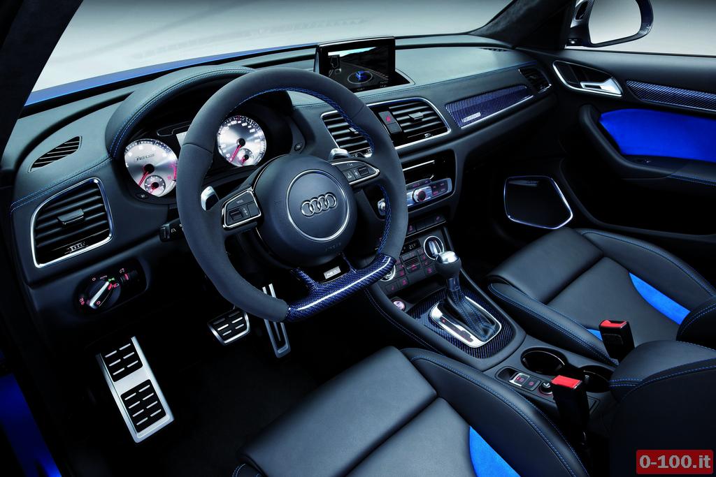 Audi RS Q3 concept/Innenraum