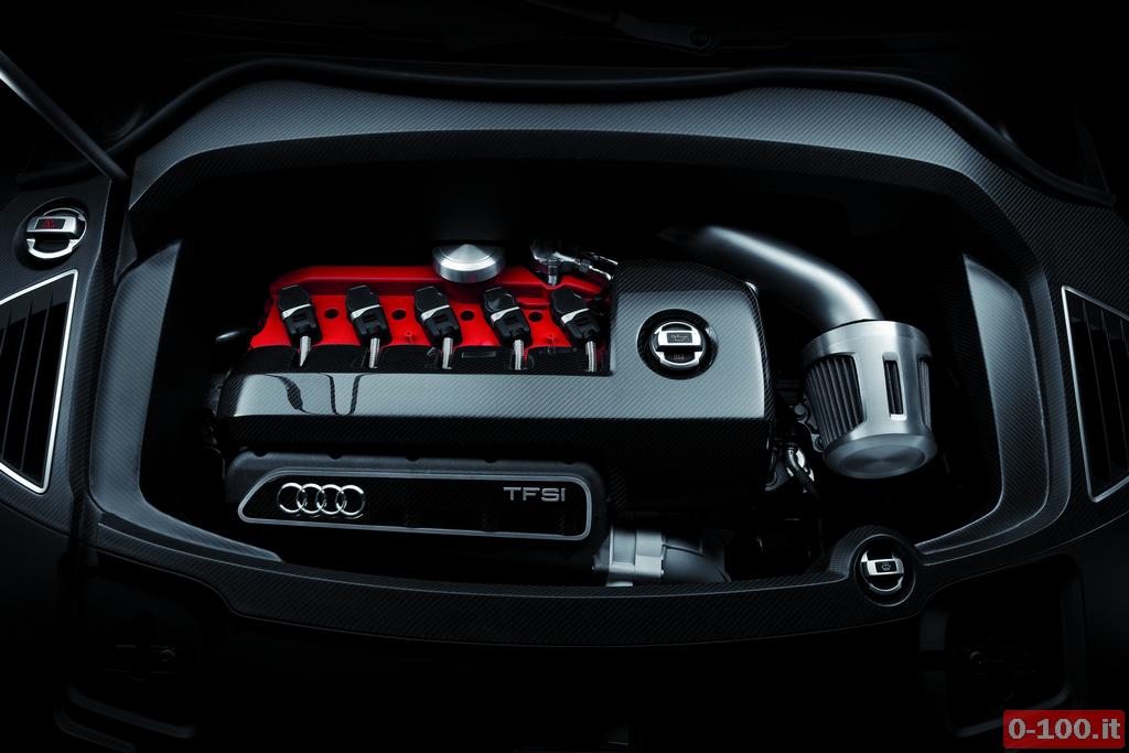 Audi RS Q3 concept/Motorraum