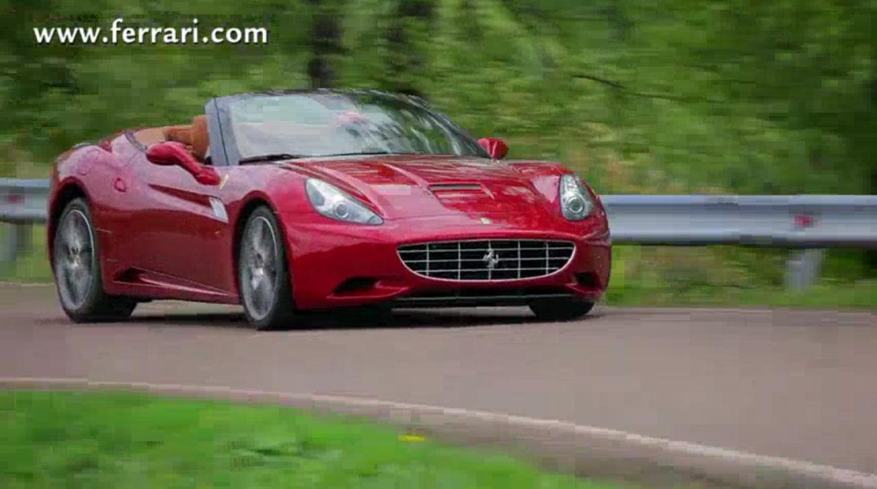 Ferrari California My 2012: il video ufficiale - 0-100.it