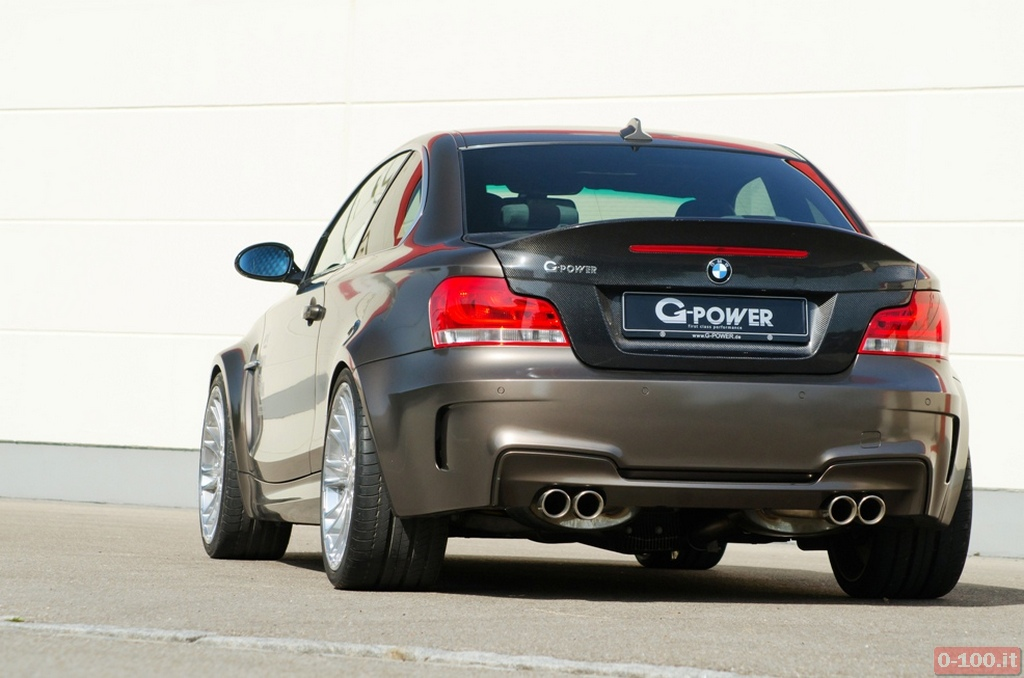 G-POWER G1 V8 HURRICANE RS - Rear