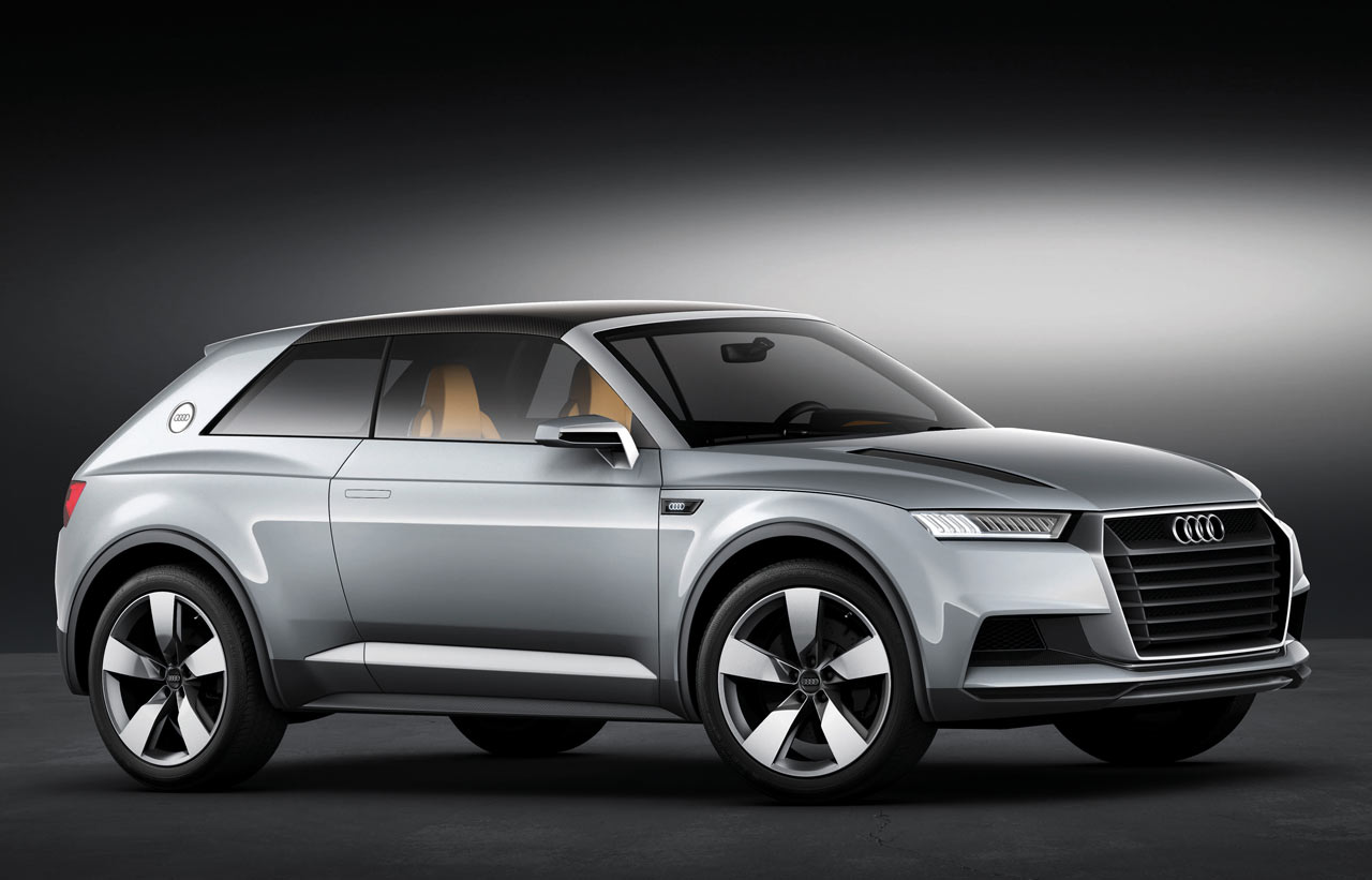 0-100.it | Audi punta sui SUV Coupé: Q2, Q4, Q6, Q8