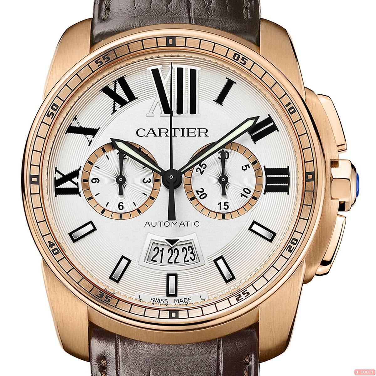 Cartier Calibre Chronograph Watch _0-1002