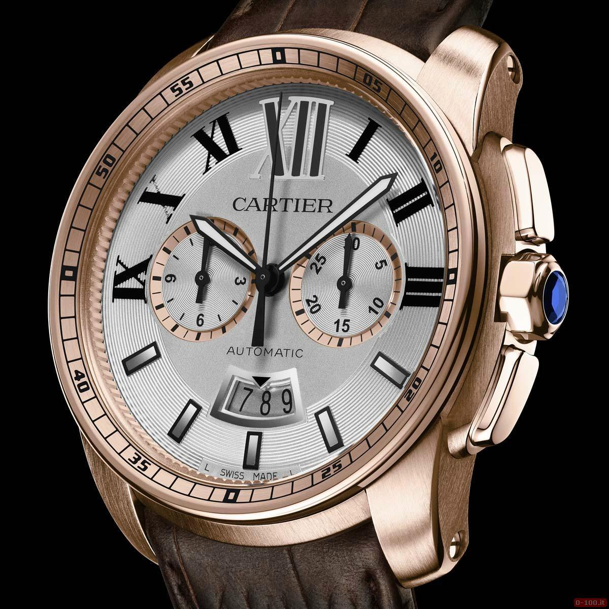 Cartier Calibre Chronograph Watch _0-1003