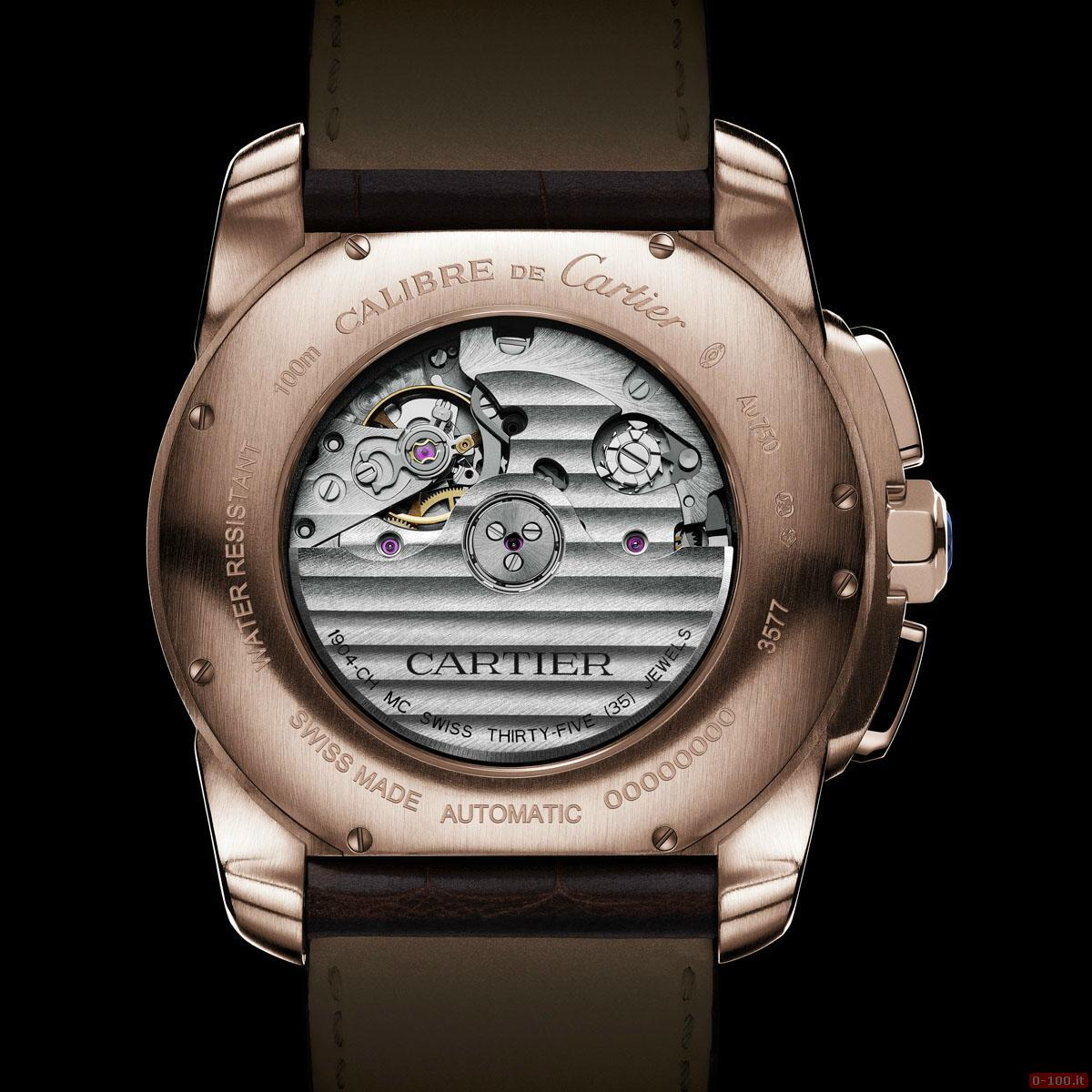 Cartier Calibre Chronograph Watch _0-1004