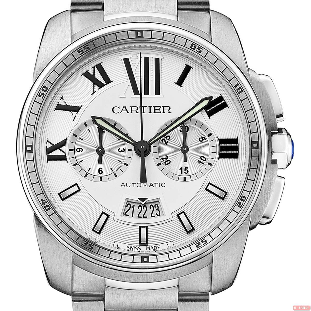 Cartier Calibre Chronograph Watch _0-1005