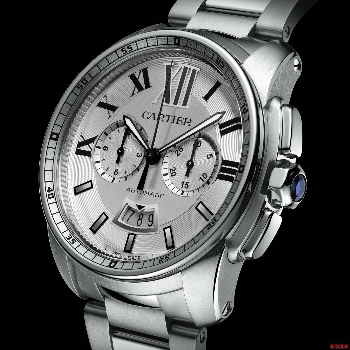Cartier Calibre Chronograph Watch _0-1006