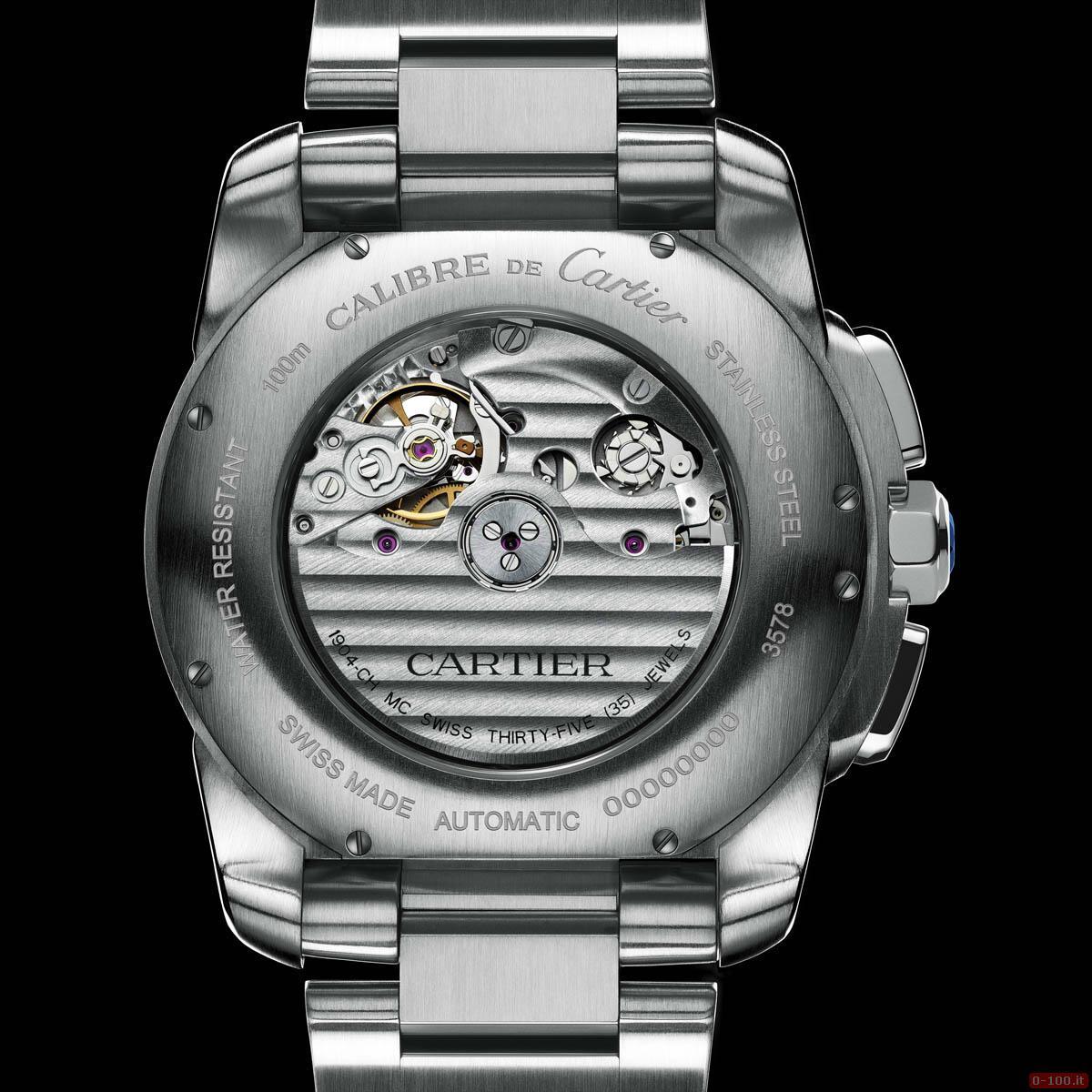 Cartier Calibre Chronograph Watch _0-1007