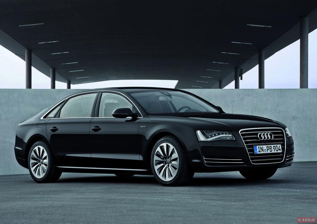 Audi A8 L hybrid/Standaufnahme