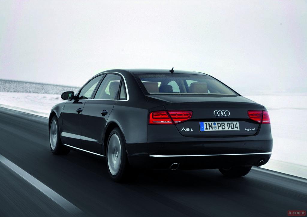 Audi A8 L hybrid/Fahraufnahme