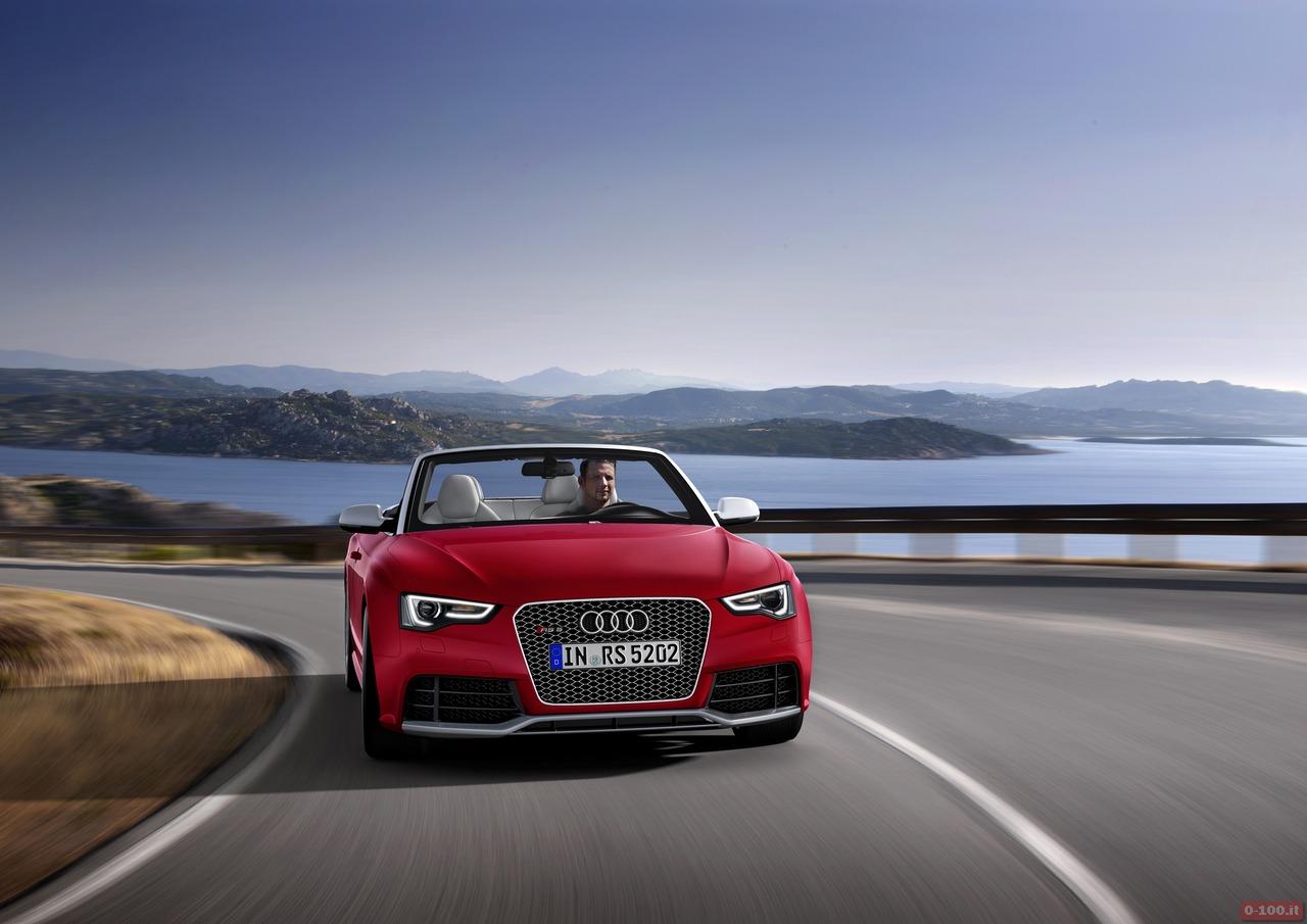 Audi RS 5 Cabriolet/Fahraufnahme