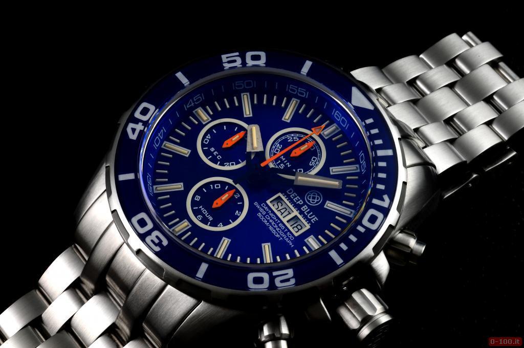Daynight 65 T-100 Tritium Automatic Chronograph Swiss-Blue _0-1001