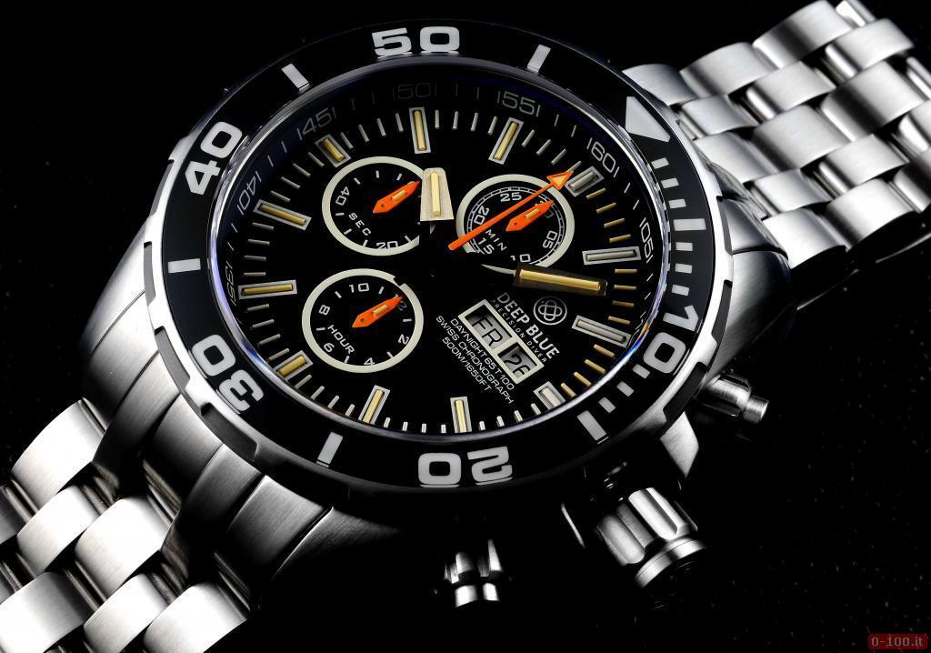 Daynight 65 T-100 Tritium Automatic Chronograph Swiss-Blue _0-1003
