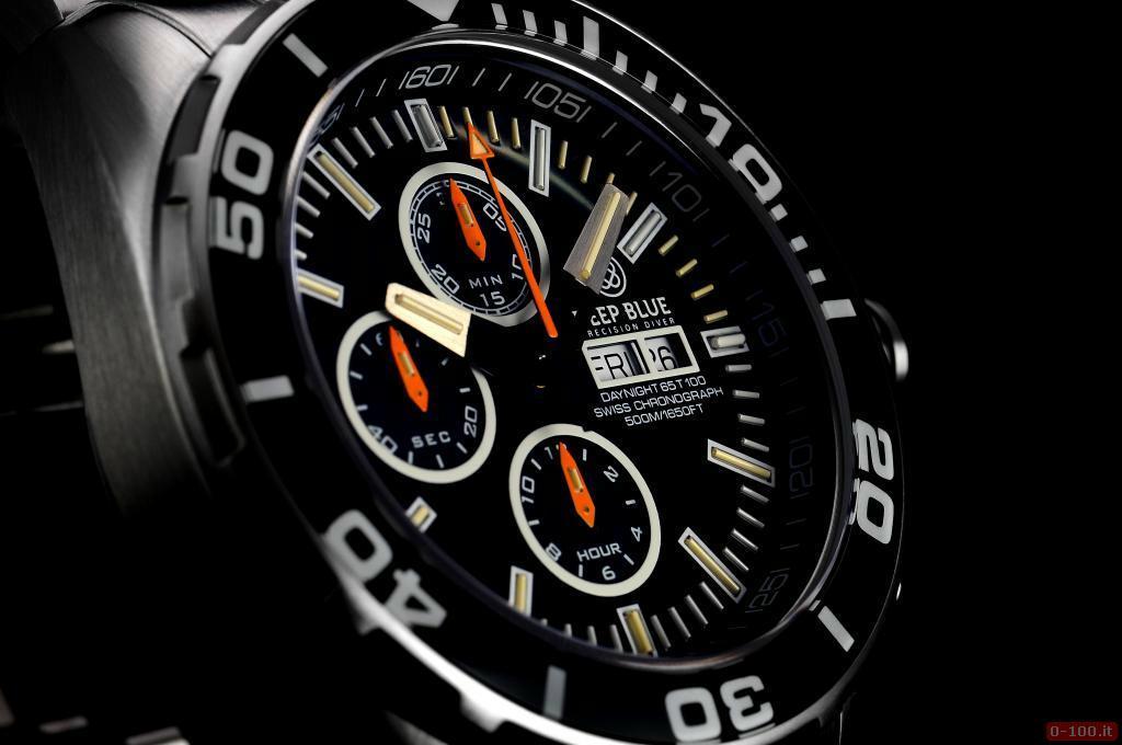 Daynight 65 T-100 Tritium Automatic Chronograph Swiss-Blue _0-1004