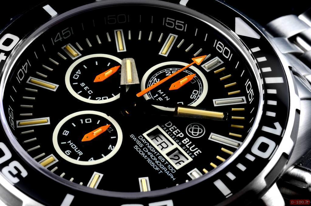 Daynight 65 T-100 Tritium Automatic Chronograph Swiss-Blue _0-1005