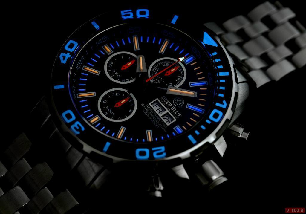 Daynight 65 T-100 Tritium Automatic Chronograph Swiss-Blue _0-1006