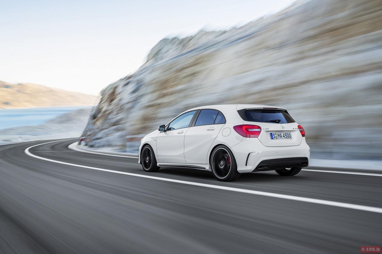 0-100.it | Mercedes A45 AMG