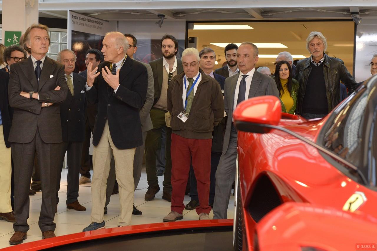 Inaugurazione Mostra Super Car Museo Ferrari