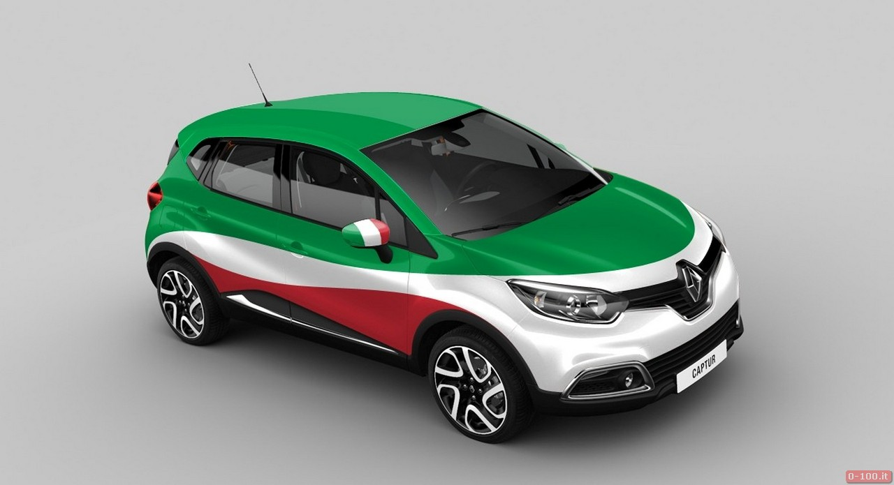 """""""Inter-country battle"""" for Renault Captur on Facebook - 0-100.it"""
