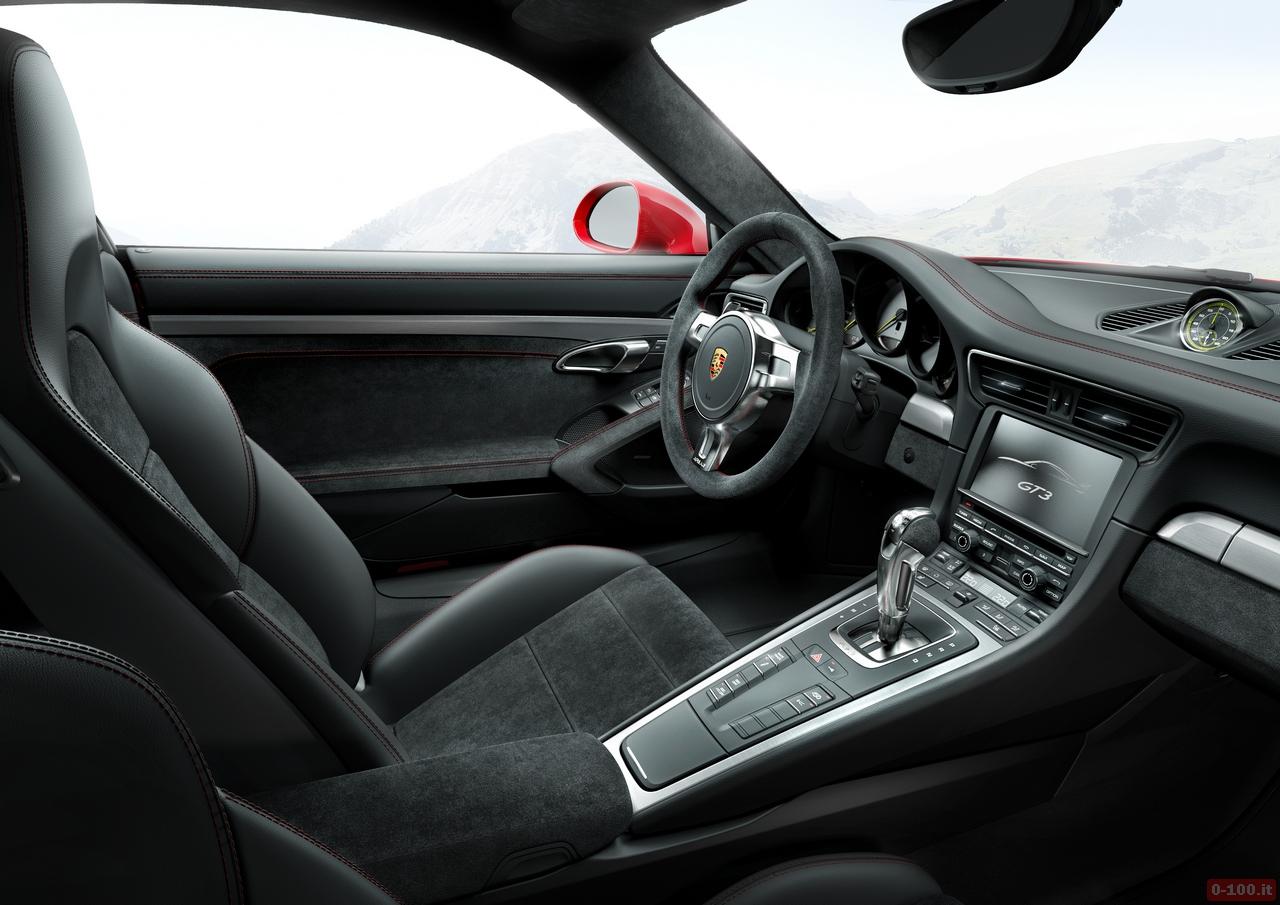 911 GT3 Innenraum