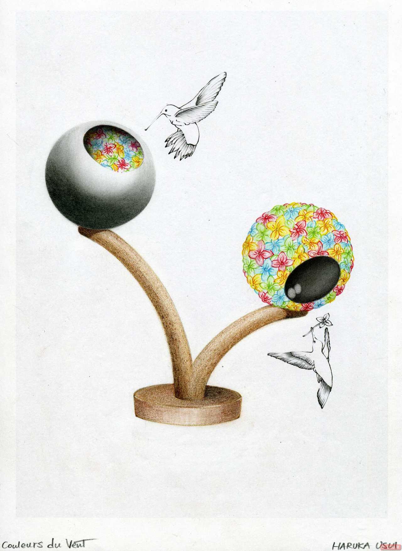 Blooming Creativity_Couleurs Du Vent e Les Bras Ouverts - Haruka Usui_Cleef & Arpels_0-100 2