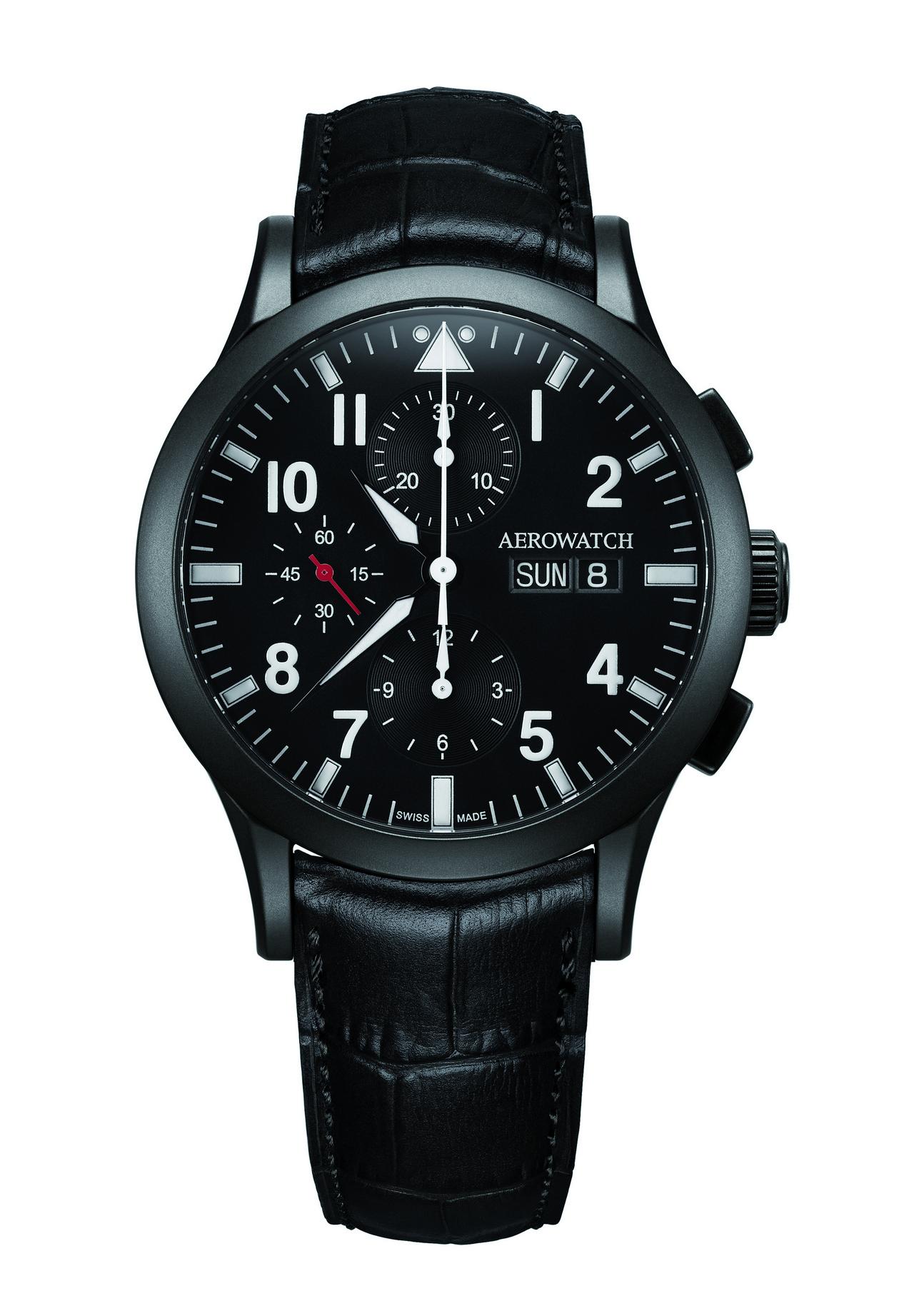 baselword-2013_Aerowatch Les Grandes Classiques Chronographe Pilote_0-100