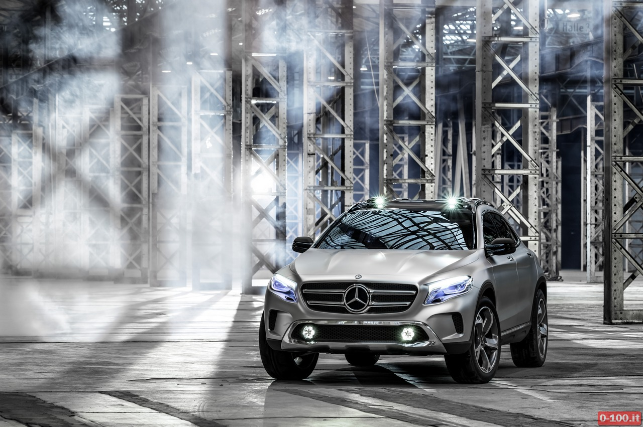 Mercedes-Benz GLA Showcar; 2013