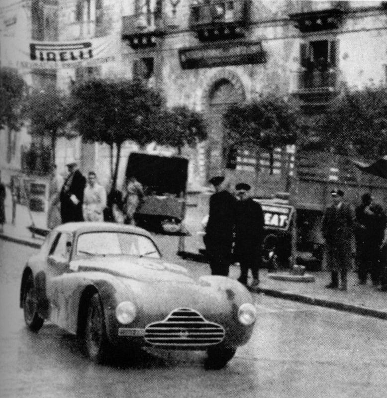 Giro di Sicilia - Targa Florio 1950: Bornigia/Bornigia (#500, telaio 920001)