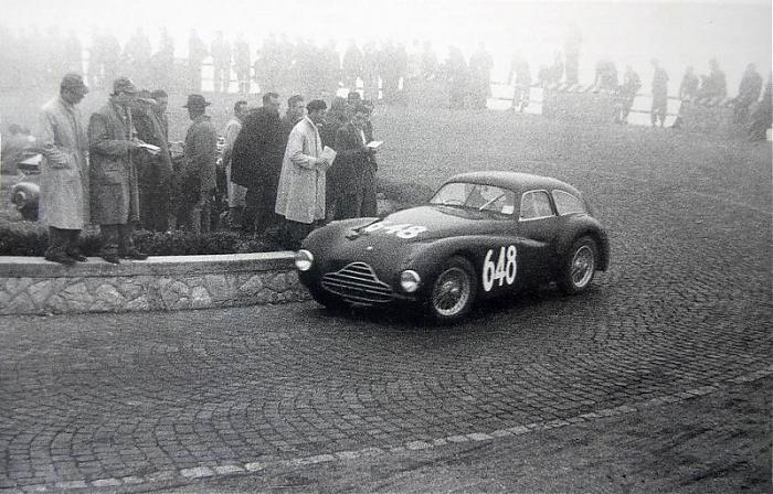 Mille Miglia 1949: Rol - Richiero (#648, telaio 920002)