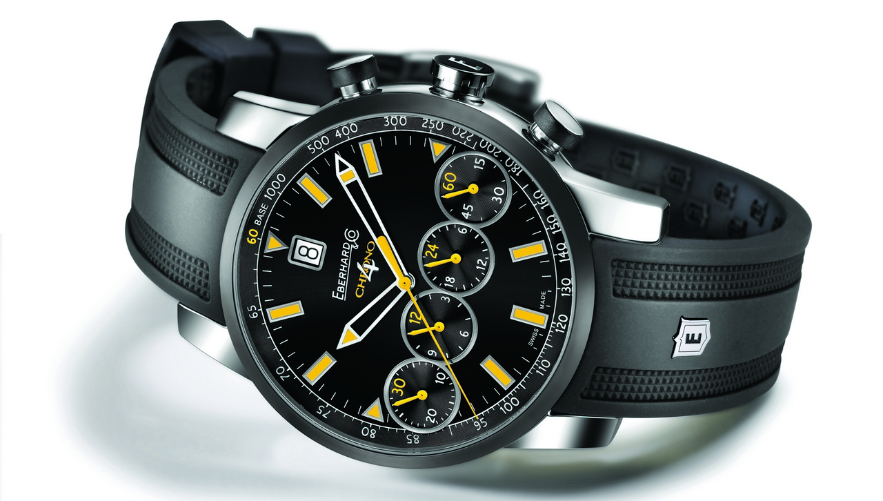 Baselworld 2013: Eberhard & Co Chrono 4 Colors