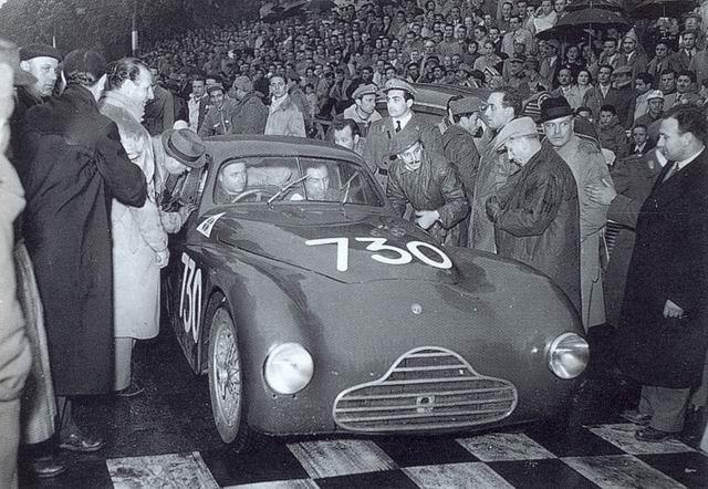 Mille Miglia 1950: Fangio - Zanardi, #730 (telaio 920001)